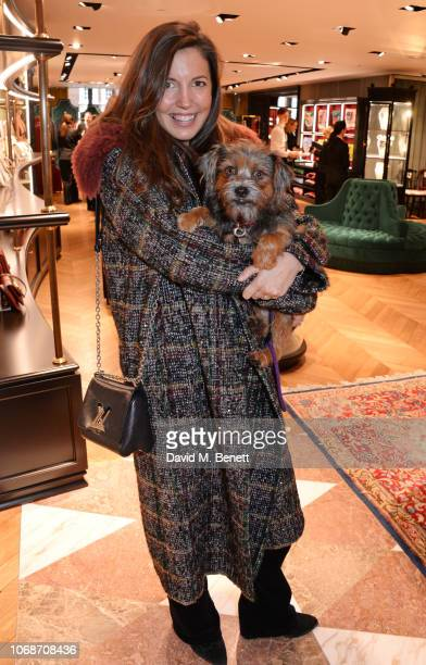 Amanda Sheppard attends the Lady Garden Foundation 5th anniversary breakfast at the Gucci Sloane Street boutique on December 5 2018 in London England