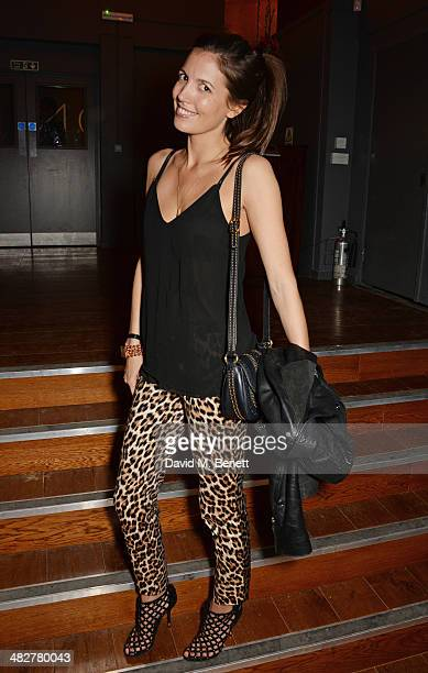 Amanda Sheppard attends the launch of MODE in Notting Hill on April 4 2014 in London England