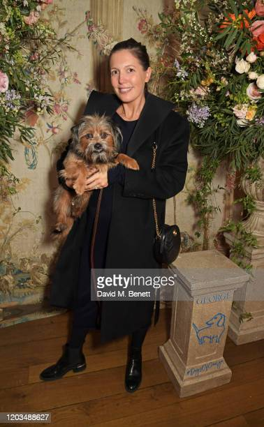 Amanda Sheppard attends the launch of the George Charitable Dogs Committee at George Club on February 26 2020 in London England