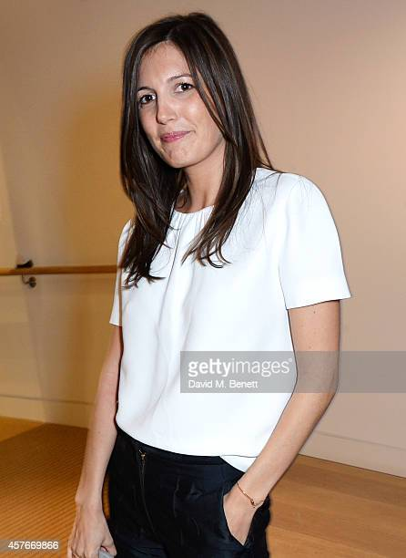 Amanda Sheppard attends the Ralph Lauren Fall 2014 Collection fashion and accessories presentation in celebration of the new Phillips European...