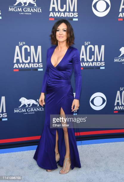 Amanda Shires attends the 54th Academy Of Country Music Awards at MGM Grand Garden Arena on April 07 2019 in Las Vegas Nevada