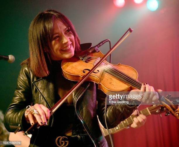 Amanda Shires performs onstage during the 19th Annual Americana Music Festival Conference at Mercy Lounge on September 12 2018 in Nashville Tennessee