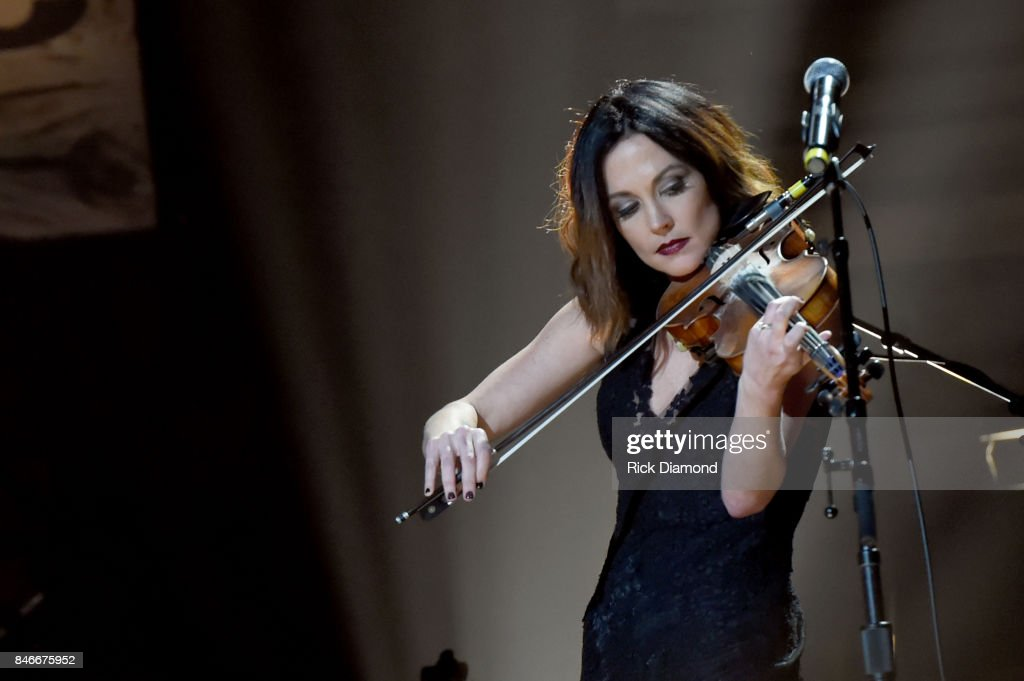 Amanda Shires performs onstage during the 2017 Americana Music Association Honors & Awards on September 13, 2017 in Nashville, Tennessee.