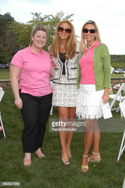 Amanda Soll Lauren Daugherty and Courtney Reagan attend A Mother and Daughter Afternoon Tea to Celebrate the Introduction of Barbie doll by Lilly...