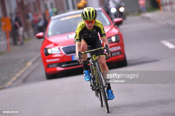 Amanda Spratt of Australia and Team MitcheltonScott / during the 2nd LiegeBastogneLiege 2018 a 136km women's race from Bastogne to LiegeAns on April...