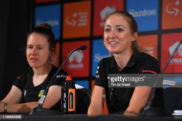 Amanda Spratt of Australia and Team MitcheltonScott / Leah Kirchmann of Canada and Team Sunweb / during the 6th Santos Women's Tour Down Under 2020...