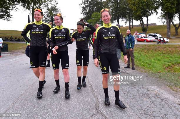 Amanda Spratt of Australia/ Gracie Elvin of Australia / Alexandra Manly of Australia / Annemiek Van Vleuten of The Netherlands / Jessica Allen of...
