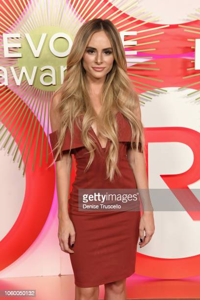Amanda Stanton attends REVOLVE Presents The 2nd Annual #REVOLVEawards at Palms Casino Resort on November 9 2018 in Las Vegas Nevada