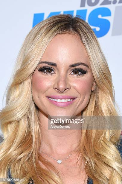 Amanda Stanton attends the 1027 KIIS FM's Jingle Ball 2016 at Staples Center on December 2 2016 in Los Angeles California