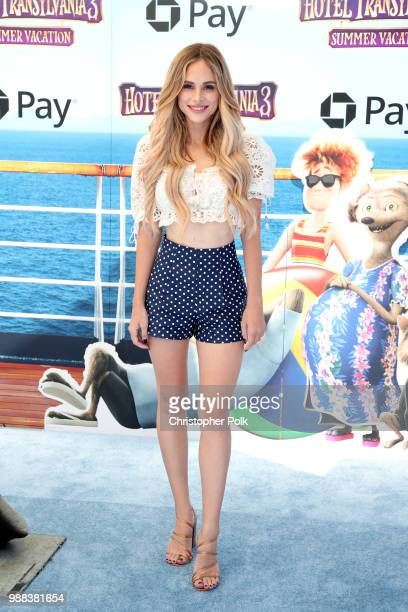 Amanda Stanton attends the Columbia Pictures and Sony Pictures Animation's world premiere of 'Hotel Transylvania 3 Summer Vacation' at Regency...