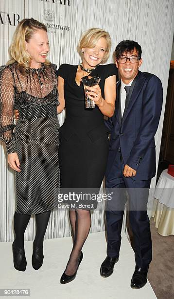 Amanda Staveley and guests attend the Harper's Bazaar Women Of The Year Awards at The Dorchester on September 7 2009 in London England