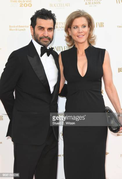 Amanda Staveley and Mehrdad Ghodoussi attend The Old Vic Bicentenary Ball at The Old Vic Theatre on May 13 2018 in London England