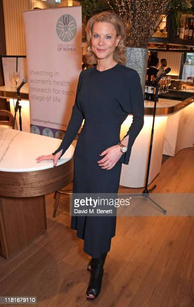 Amanda Staveley attends a lunch hosted by Amanda Staveley for 'Wellbeing Of Women', Britain's foremost female health charity investing in pioneering...
