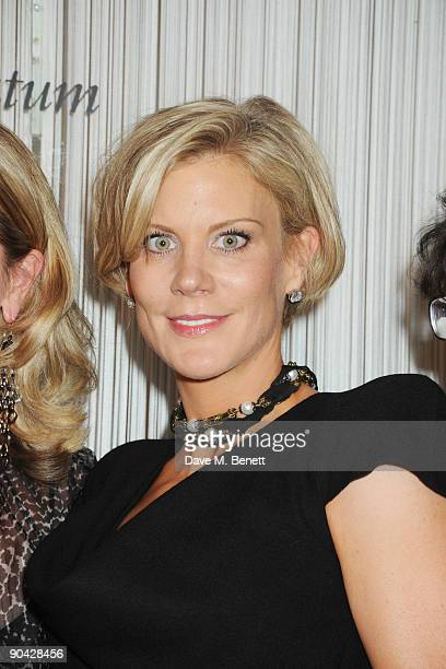 Amanda Staveley attends the Harper's Bazaar Women Of The Year Awards at The Dorchester on September 7 2009 in London England