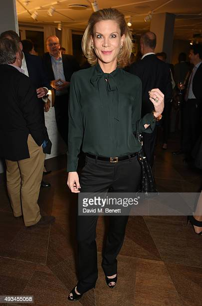 Amanda Staveley attends the opening dinner for 12 Hay Hill hosted by 12 Hay Hill CEO Simon Robinson Heather Kerzner and Jeanette Calliva on October...