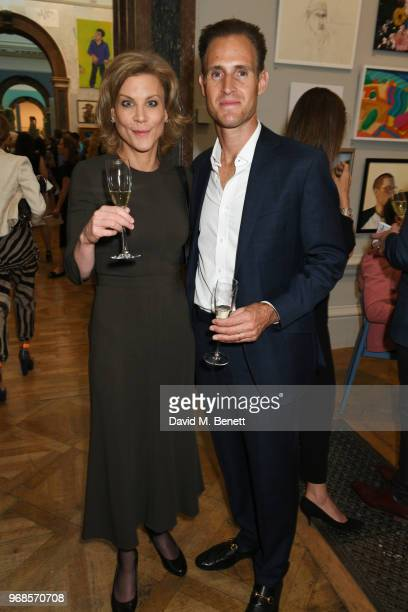 Amanda Staveley attends the Royal Academy Of Arts summer exhibition preview party 2018 on June 6 2018 in London England