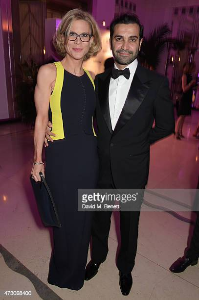 Amanda Staveley attends the Spring Gala In Aid of the Red Cross War Memorial Children's Hospital hosted by QBF and Kerzner Calliva at Claridge's...