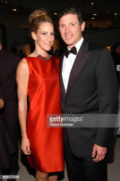 Amanda Steck and Glenn Fuhrman attend 2009 Guggenheim International Gala at Guggenheim Museum on September 16 2009 in New York City