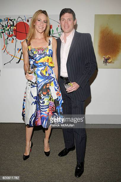 Amanda Steck and Glenn Fuhrman attend ASPEN ART MUSEUM hosts artCRUSH 2008 at Aspen Art Museum on August 1 2008 in Aspen CO