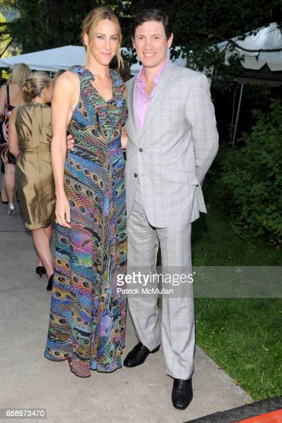Amanda Steck and Glenn Fuhrman attend ASPEN ART MUSEUM hosts artCRUSH 2009 at Aspen Art Museum on August 7 2009 in Aspen CO