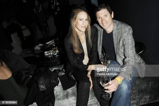 Amanda Steck and Glenn Fuhrman attend HAUNCH OF VENISON 'Your History is Not Our History' After Party at 48 Lounge on March 5 2010 in New York City