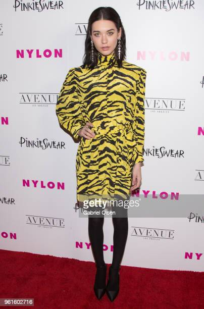 Amanda Steele arrives for NYLON Hosts Annual Young Hollywood Party at Avenue on May 22 2018 in Los Angeles California