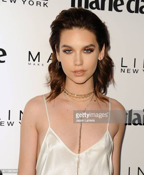 Amanda Steele attends Marie Claire's Fresh Faces event at Doheny Room on April 21 2017 in West Hollywood California