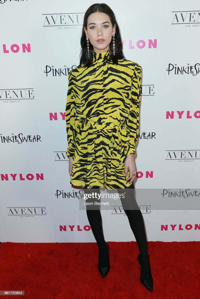 Amanda Steele attends NYLON Hosts Annual Young Hollywood Party at Avenue on May 22, 2018 in Los Angeles, California.