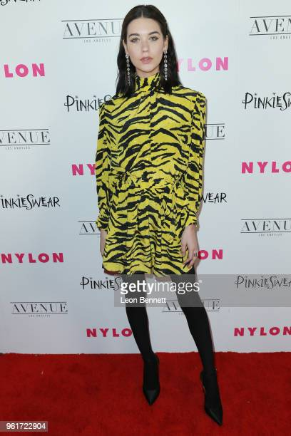 Amanda Steele attends NYLON Hosts Annual Young Hollywood Party at Avenue on May 22 2018 in Los Angeles California