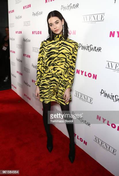 Amanda Steele attends NYLON's Annual Young Hollywood Party sponsored by Pinkie Swear at Avenue Los Angeles on May 22 2018 in Hollywood California