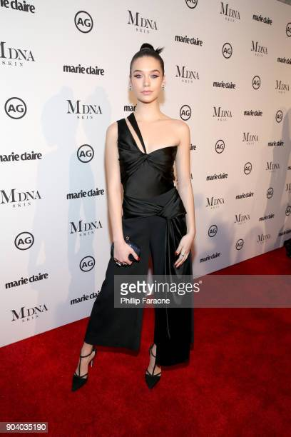 Amanda Steele attends the Marie Claire's Image Makers Awards 2018 on January 11 2018 in West Hollywood California