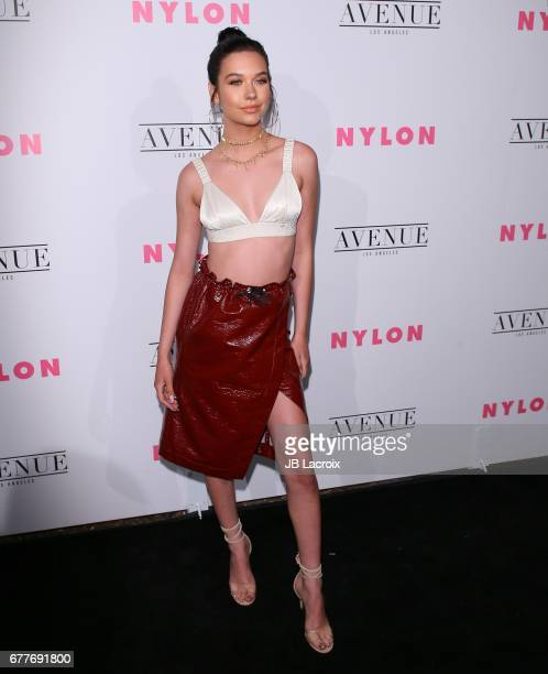 Amanda Steele attends the NYLON Young Hollywood Party at AVENUE Los Angeles on May 2 2017 in Los Angeles California