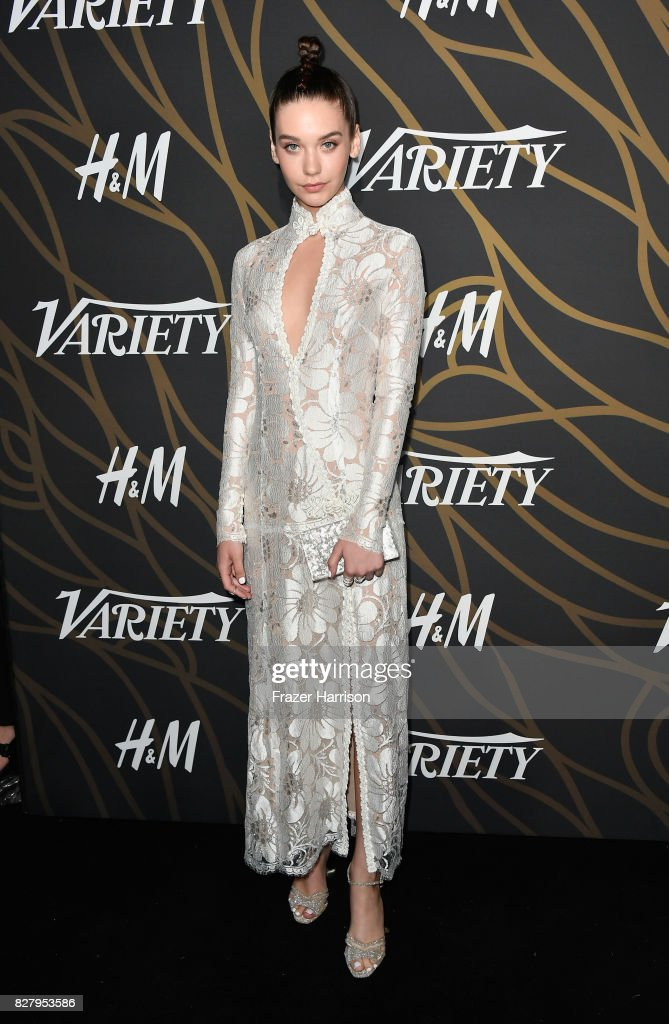 Amanda Steele attends Variety Power of Young Hollywood at TAO Hollywood on August 8, 2017 in Los Angeles, California.