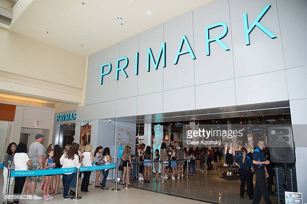 Amanda Steele Celebrates Primark's Fourth US Store Opening at Primark Freehold Raceway Mall on August 4 2016 in Freehold New Jersey