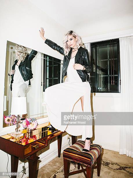 Amanda Steele is photographed for Teen Vogue Magazine on August 4 2015 in Los Angeles California
