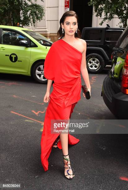 Amanda Steele is seen arriving at The Daily Front Row Fashion Media Awards New York Fashion Week on September 8 2017 in New York City