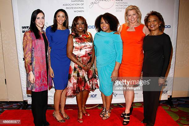 Amanda Steinberg Dr Holly Phillips Star Jones Lisa Price Emme and Dr Priscilla Douglas attend the NAPW 2014 Conference Day 2 on April 25 2014 in New...