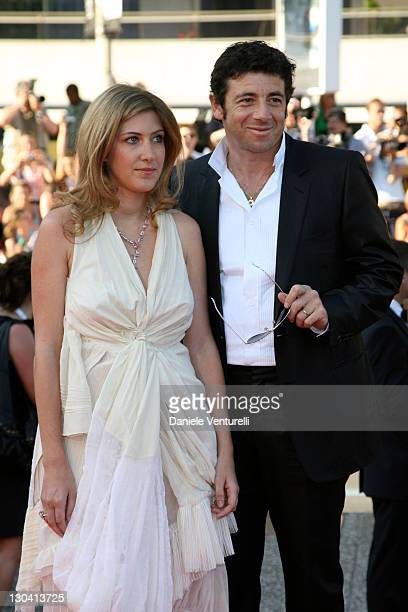 Amanda Sthers and husband Patrick Bruel during 2007 Cannes Film Festival Les Chansons d'Amour Premiere at Palais des Festivals in Cannes France