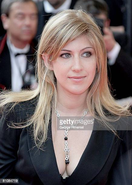 """Amanda Sthers arrives at the """"Blindness"""" premiere during the 61st Cannes International Film Festival on May 14, 2008 in Cannes, France."""