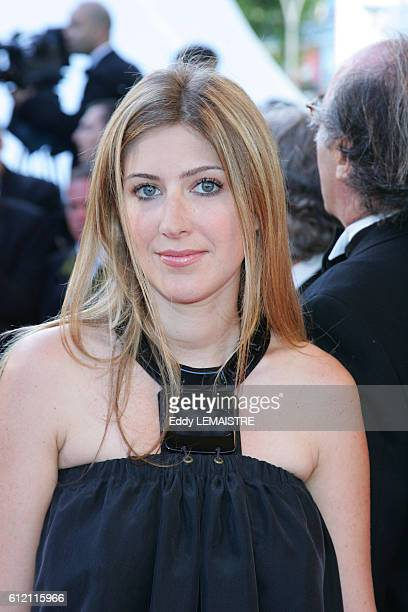 Amanda Sthers arrives at the premiere of 'Zodiac' during the 60th Cannes Film Festival