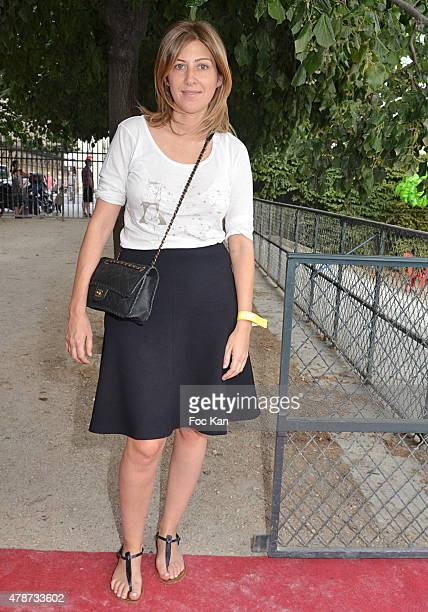 Amanda Sthers attends 'Fete des Tuileries' Launch Party To Benefit Meghanora Association on June 26 2015 in Paris France