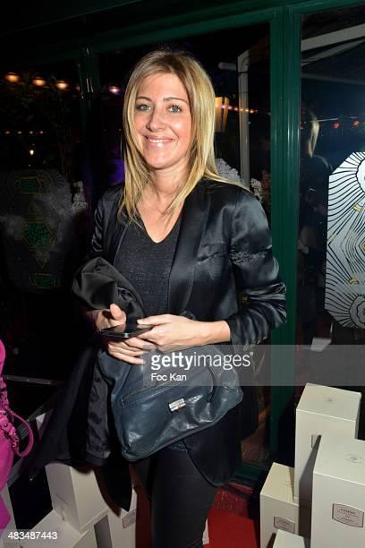 Amanda Sthers attends La Closerie Des Lilas Literary Awards 2014 7th at La Closerie Des Lilas on April 8 2014 in Paris France