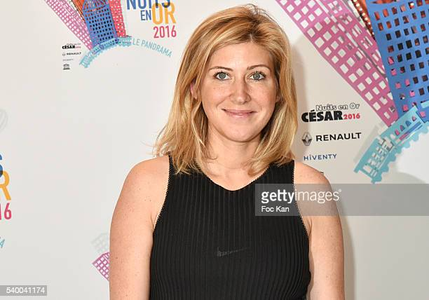 Amanda Sthers attends 'Les Nuits en Or 2016' Dinner Gala Photocall at Unesco on June 13 2016 in Paris France