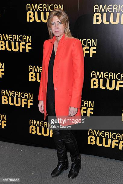 Amanda Sthers attends the 'American Bluff' Paris Premiere at Cinema UGC Normandie on February 3 2014 in Paris France