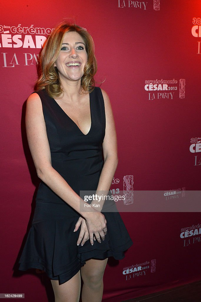 Amanda Sthers attends the Cesar Film Awards 2013 after party at the Club 79 on February 22, 2013 in Paris, France.