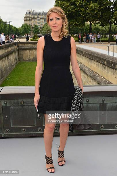 Amanda Sthers attends the Christian Dior show as part of Paris Fashion Week HauteCouture Fall/Winter 20132014 at on July 1 2013 in Paris France