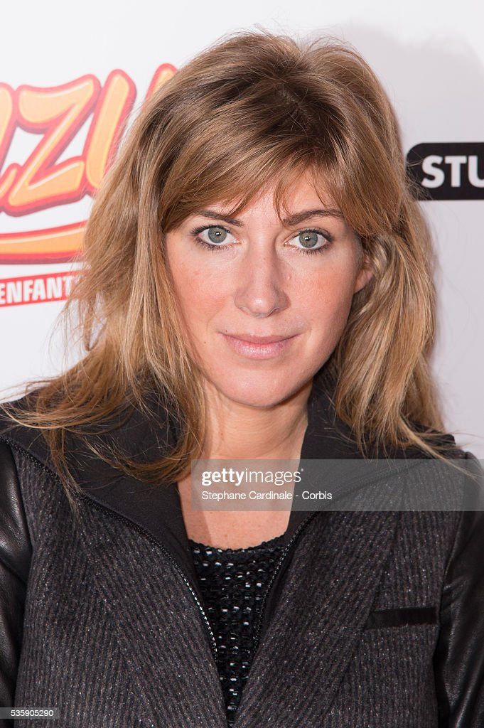Amanda Sthers attends the 'Fonzy' Paris Premiere at Cinema Gaumont Opera, in Paris.