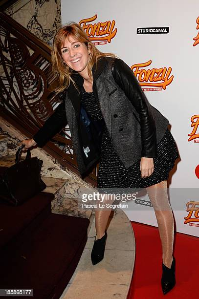 Amanda Sthers attends the 'Fonzy' Paris Premiere at Cinema Gaumont Opera on October 25 2013 in Paris France