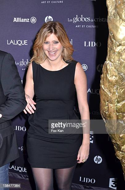 Amanda Sthers attends the 'Globes de Cristal Awards 2012 Press Room at the Lido on February 6 2012 in Paris France