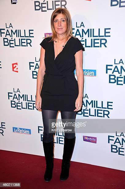 Amanda Sthers attends the 'La Famille Belier' Paris Premiere at Le Grand Rex on December 9 2014 in Paris France
